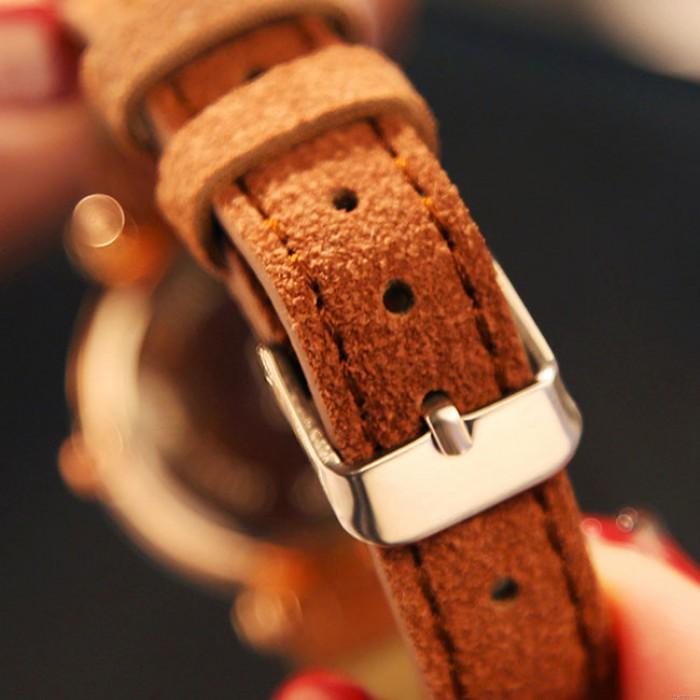 Mode Strass Gürtel wasserdicht glänzende Damen Quarzuhr