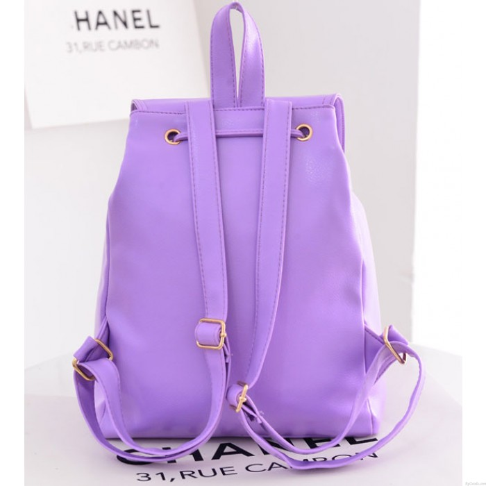 Frische Süßigkeit-Farben-Buckle Tassel Studententasche Rucksack