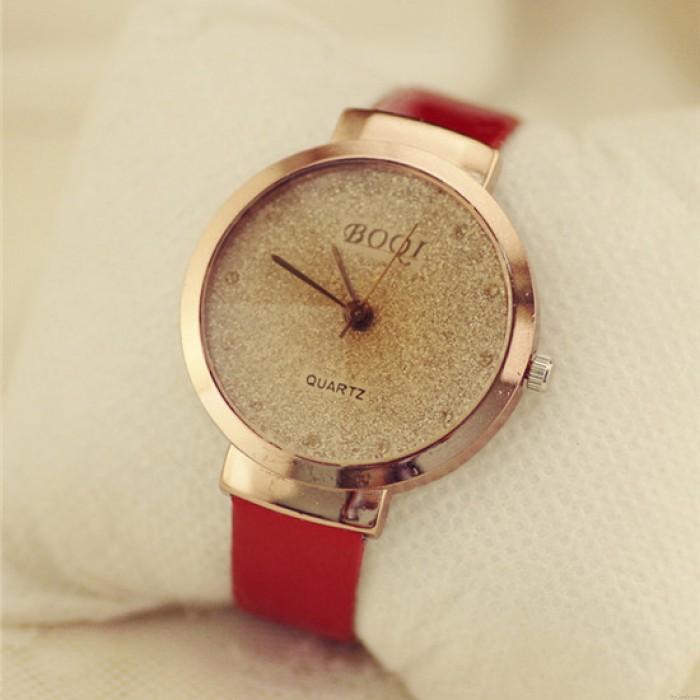 Einfache Sands Starry Diamant-Quarz-Uhr