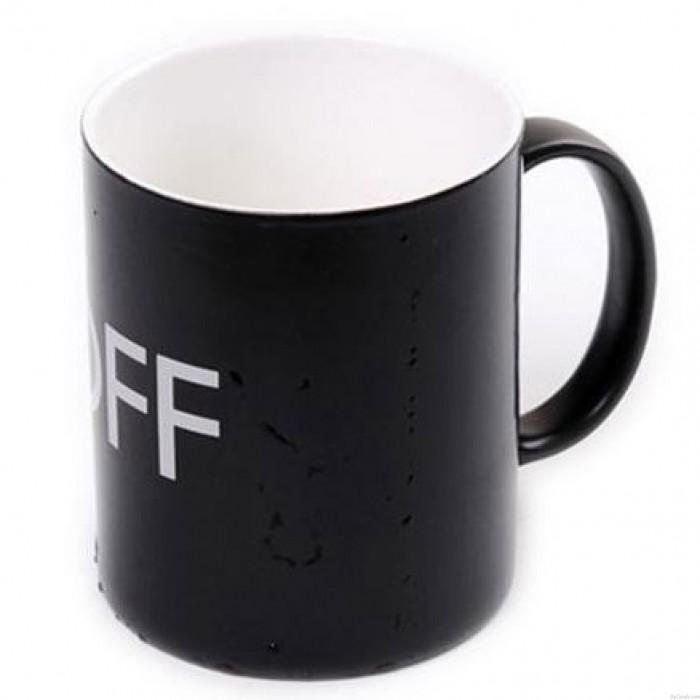 Temperatursensor Keramikschale Persönlichkeit Schalter Milch Tasse