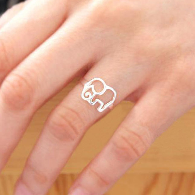 fashion elephant ring