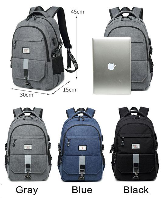 Leisure Outdoor Large Travel Rucksack Sport Travel Business Computer Bag High School Bag Backpack