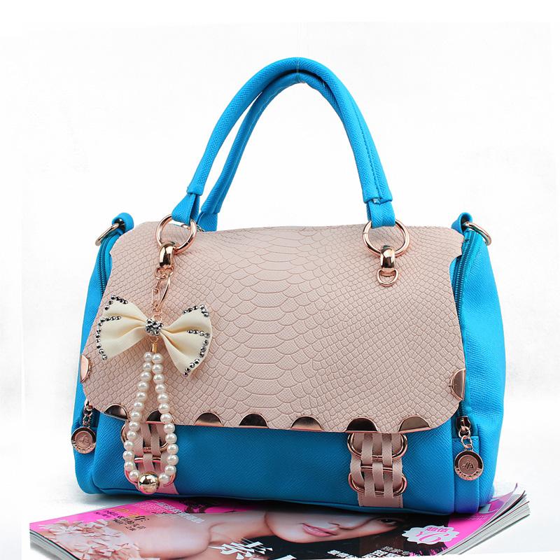 Retro Sweet Lady Bow Handbag & Shoulder Bag | Fashion Handbags ...
