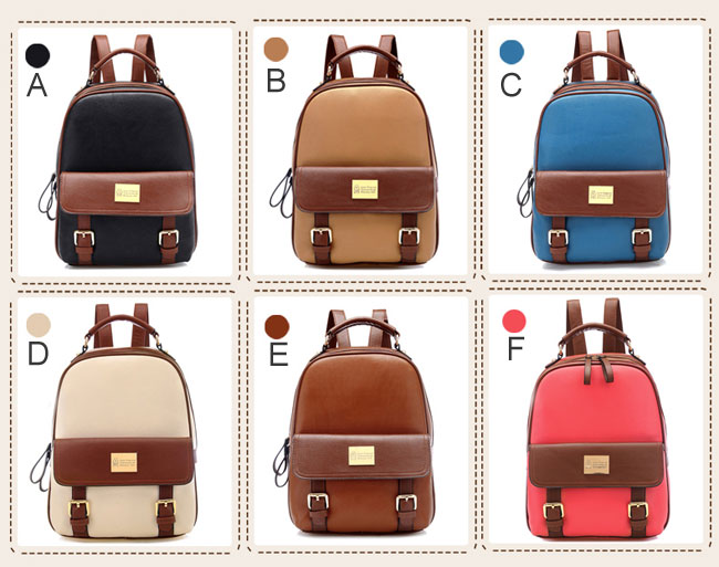Retro Elegant Girl College Backpack | Fashion Backpacks | Fashion ...