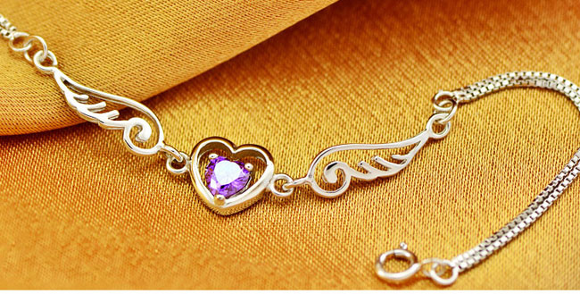 Angel Wings Lover Silver Bracelet