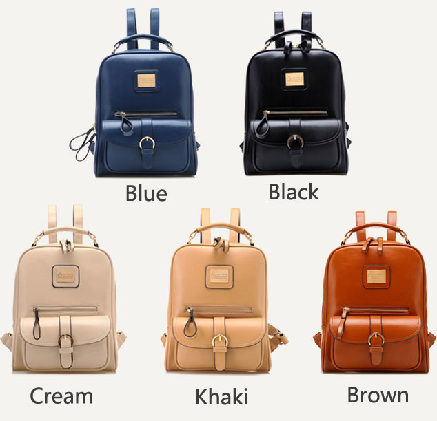 Fashion Leisure British Style College Backpack