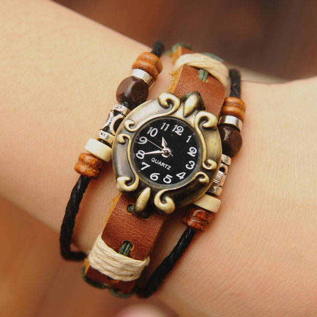 Retro National Style Bracelet Watches