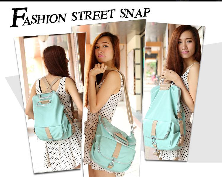Unique Fresh Multifunction Backpack & Handbag & Shoulder Bag ...