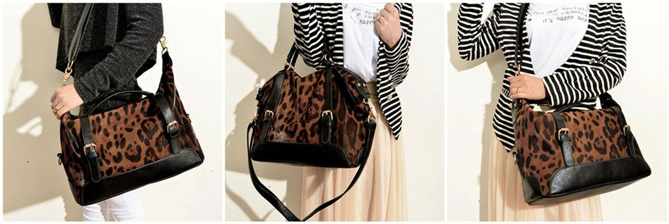 Fashion Sexy Leopard Handbag & Shoulder Bag