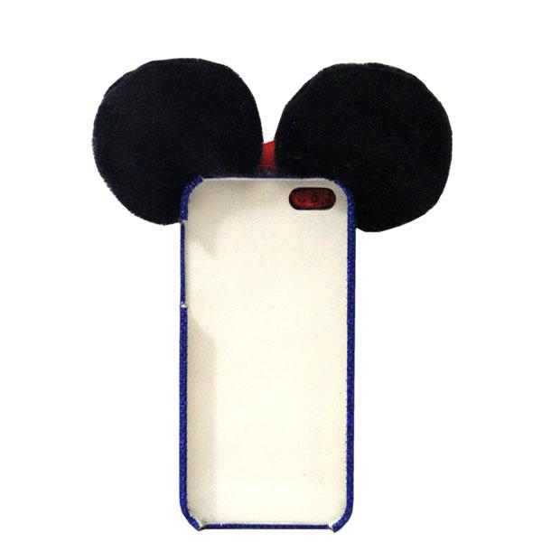 Snow White Mickey Sequin Iphone 4/4s/5/5s/6/6s Cases