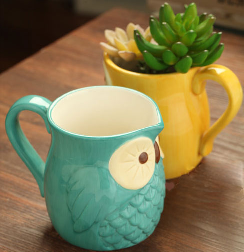 Sweet  Owl Christmas Decoration Gift/Mug Cup/Ceramic Cup