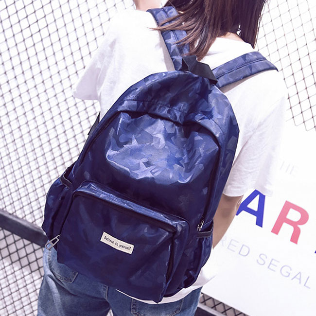 Leisure Shining Star Large School Bag Travel Casual Waterproof Backpack