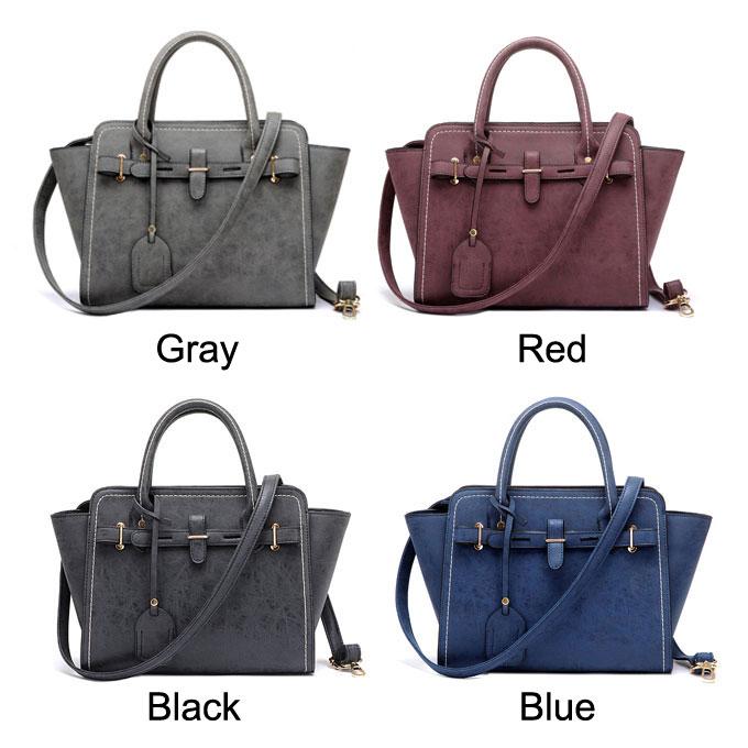 Fall Winter Handbag Occupation Matte Bag Minimalist Wings Messenger Bag