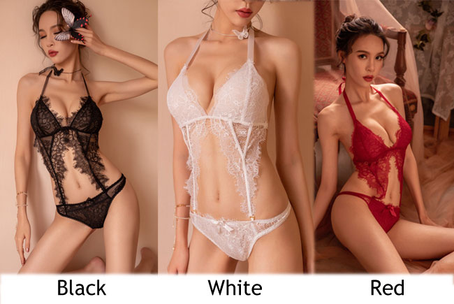 Sexy Conjoined Hollow Lace Underwear Sling Women Intimate Lingerie