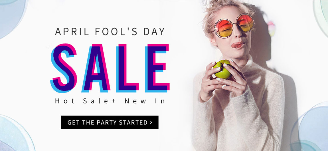 fool day Big Sale at bygoods.com
