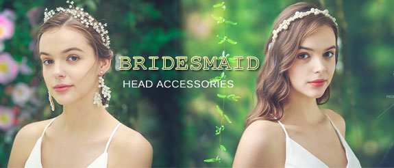 bridesmaid head accessories